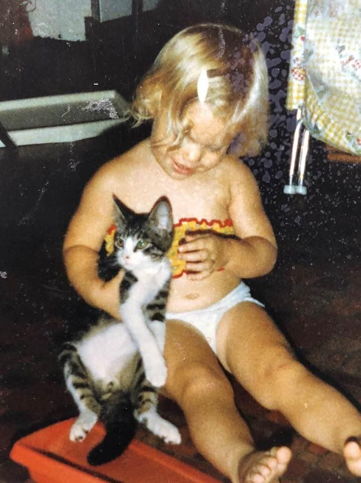 Lisa always loved kitties!