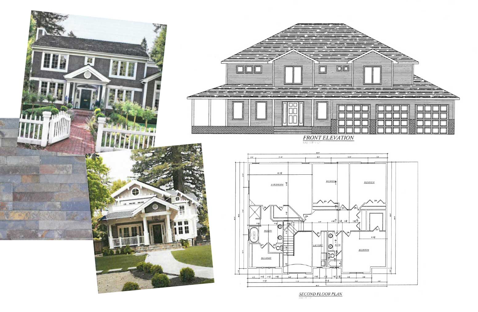 STEP 1 - Submit a house plan and inspiration photos.