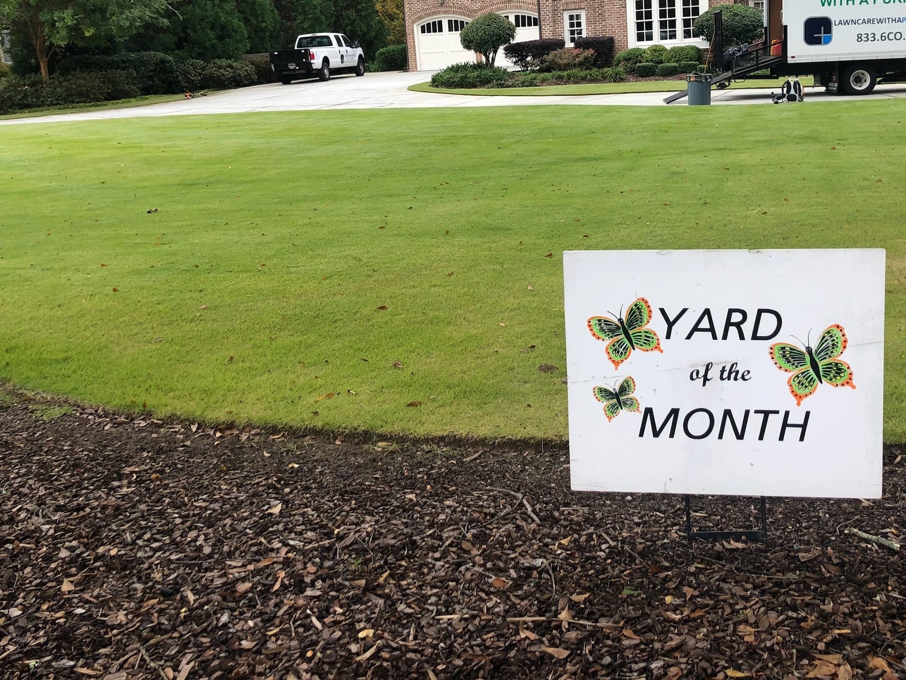 "- ""I want to say a big THANK YOU to Jose and the team at Corners Industries. I've been very pleased with my yard, and the fact that 15% of the profits go toward tutoring students who need the most help makes the decision that much easier. I've told my friends and family about Corners Industries, and will continue to recommend you.""- Butch Floyd"