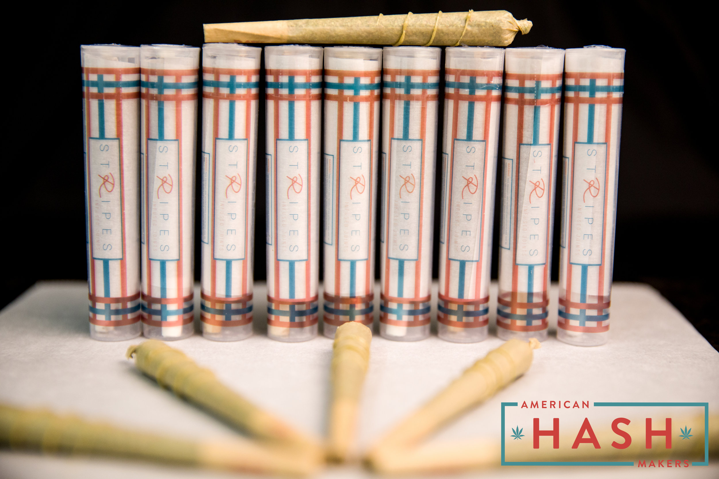 Stripes Infused Joints