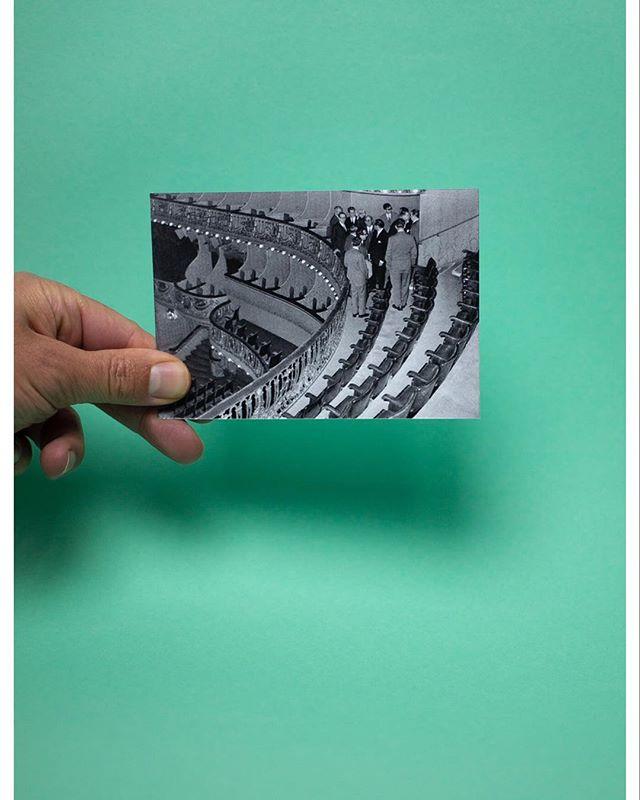 O C U P A Ç Ã O - @teatrodovestido  no @teatrosaoluiz - 24 / 30 de Abril. 📷 @jpserafim.miiac  #ocupação #teatrodovestido #joanacraveiro #criação #joaopauloserafim #teatrosaoluiz #125anos #abril #25deabril #memoria #censura #teatro #portugal