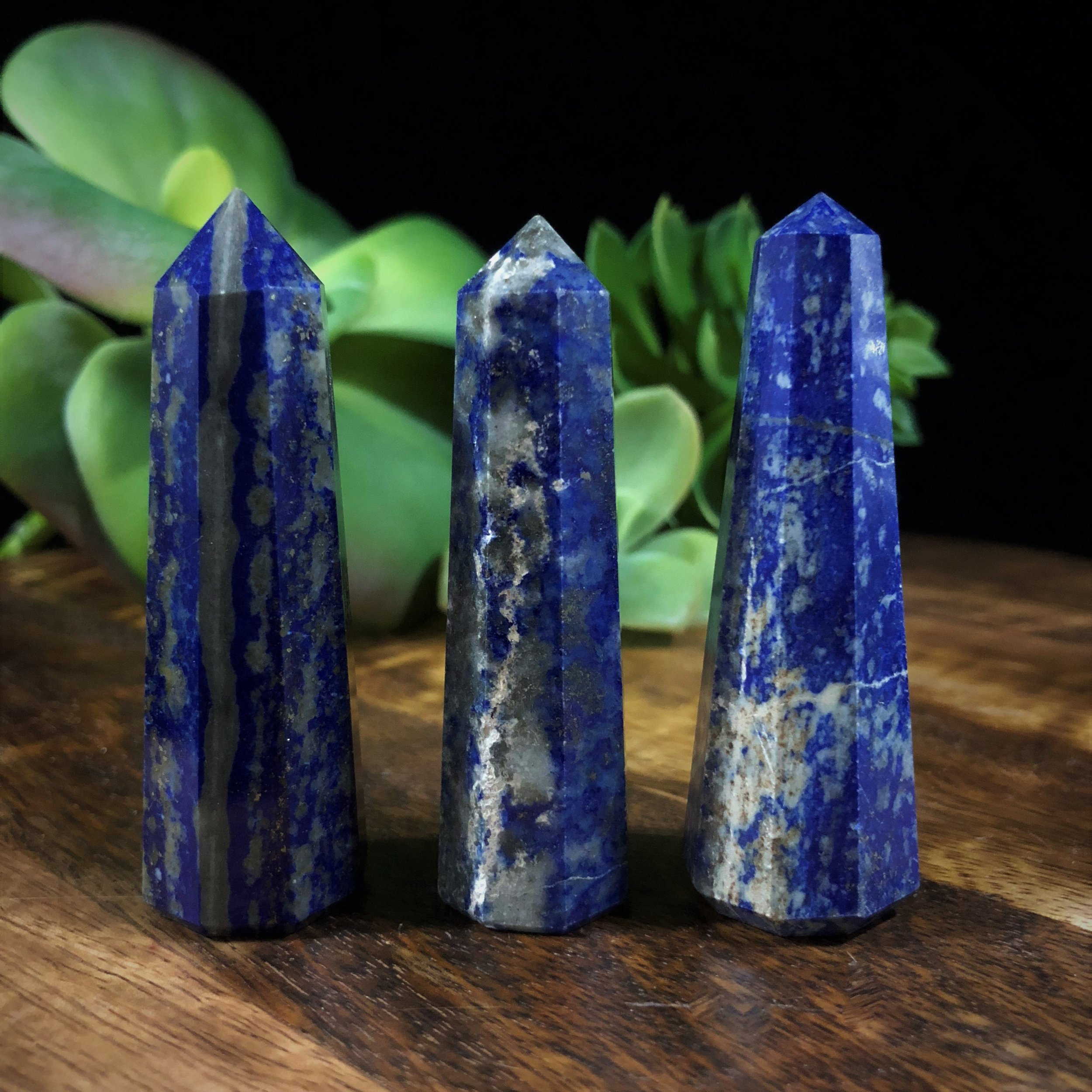 Lapis Lazuli  is one of the most sought after stones in use since man's history began. Its deep, celestial blue remains the symbol of royalty and honor, gods and power, spirit and vision. It is a universal symbol of wisdom and truth.