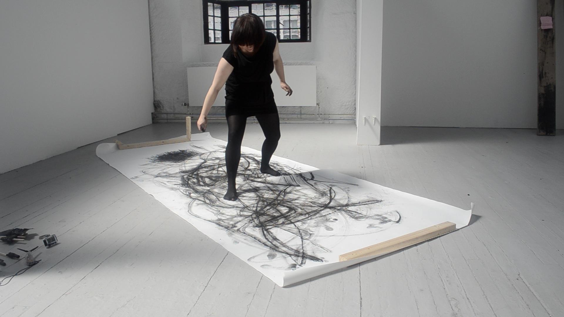 Performatiivinen piirustus, Glasgow School of Art 2012