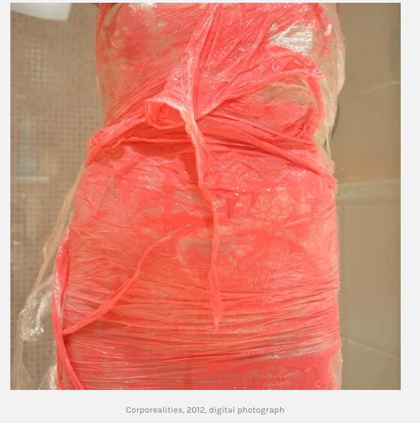 - Kuva teoksessa Corporealities, 2012