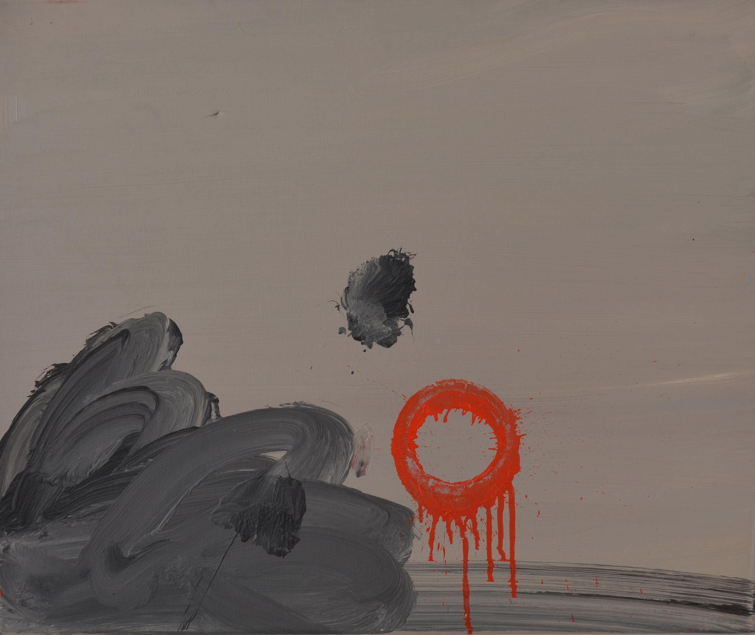 Elina Aho Sarjasta Extended Body, 65 x 54 cm öljy kankaalle, 2012.JPG
