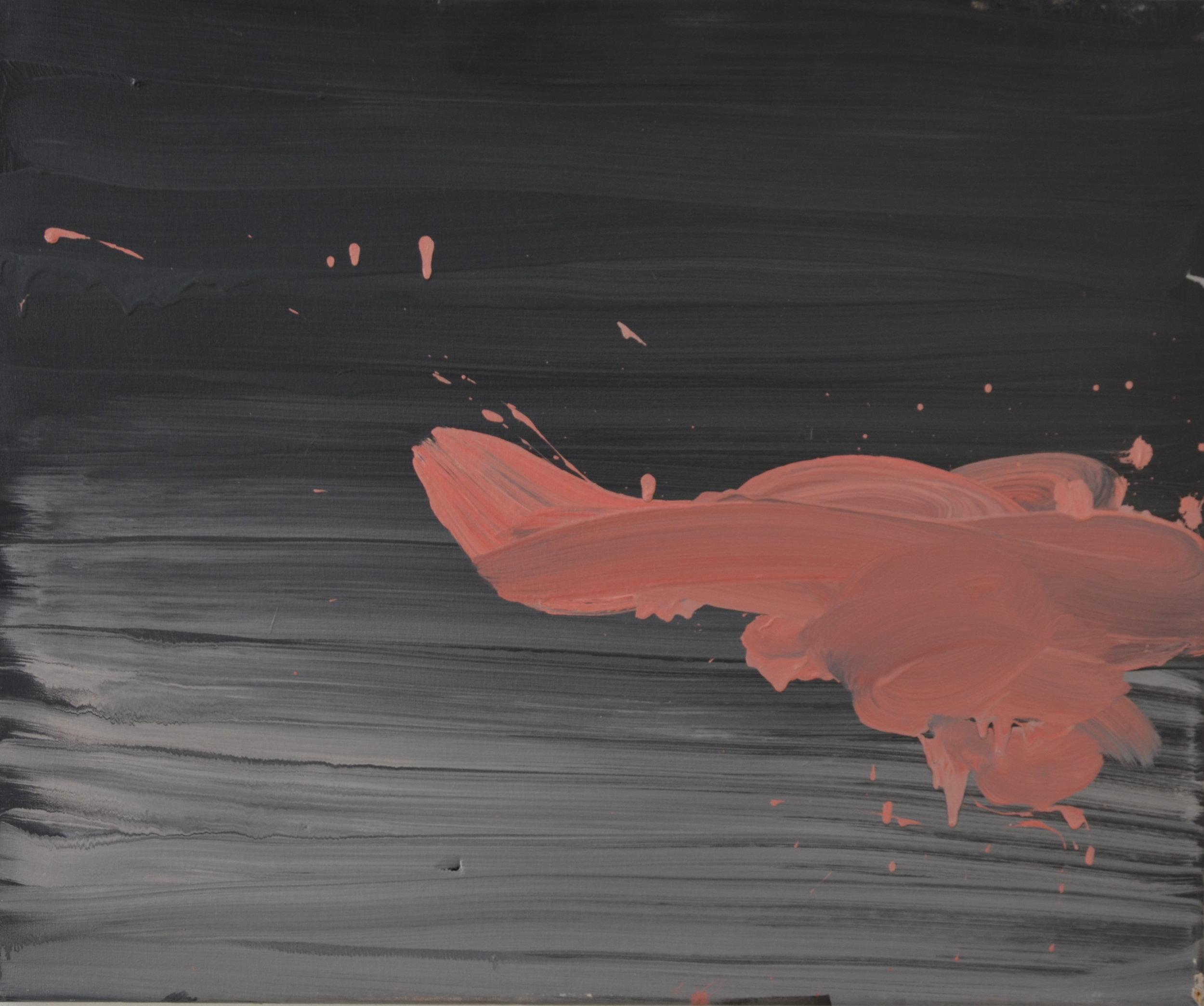 Elina Aho Sarjasta Extended Body, öljy kankaalle, 2013, 54 x 65 cm.JPG