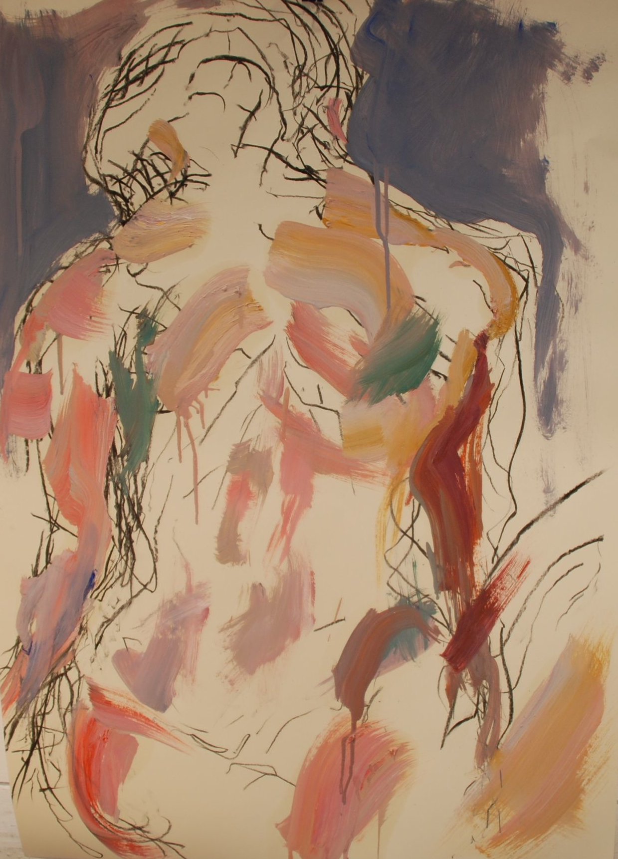 Elina Aho, From Series In-Between III, 2012, mixed media on paper, 84 x 56 cm.png