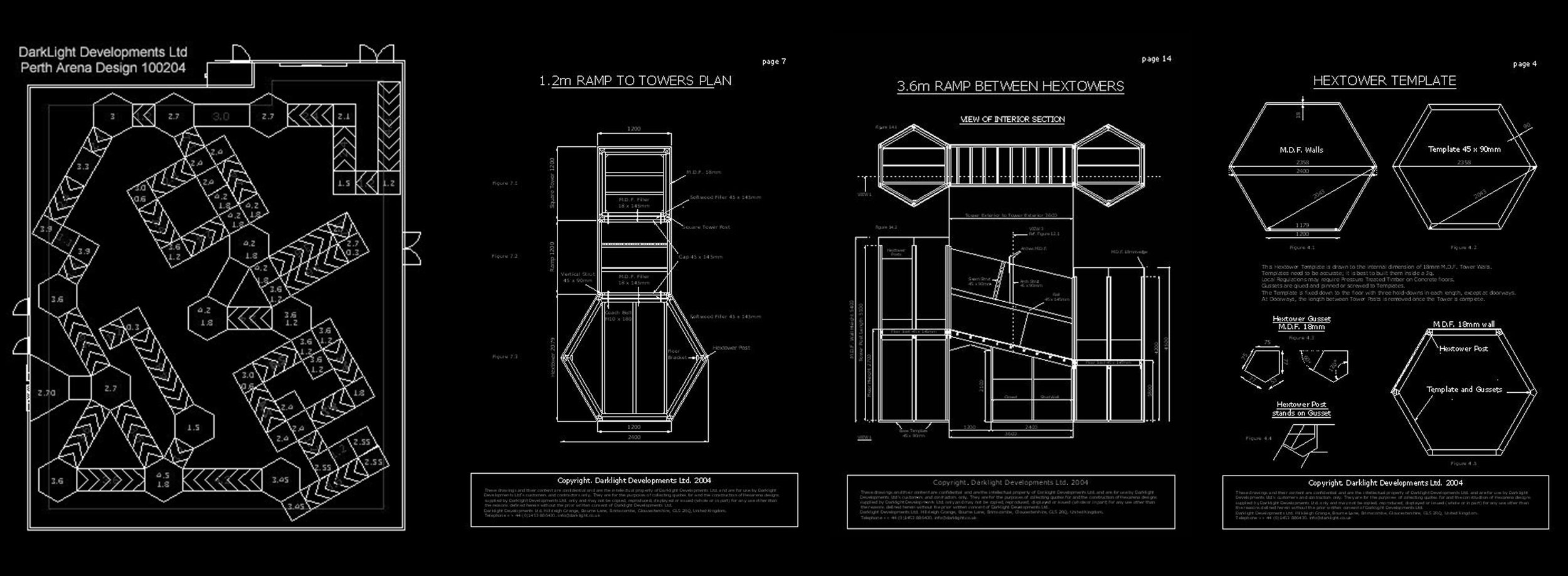 Arena-blueprints