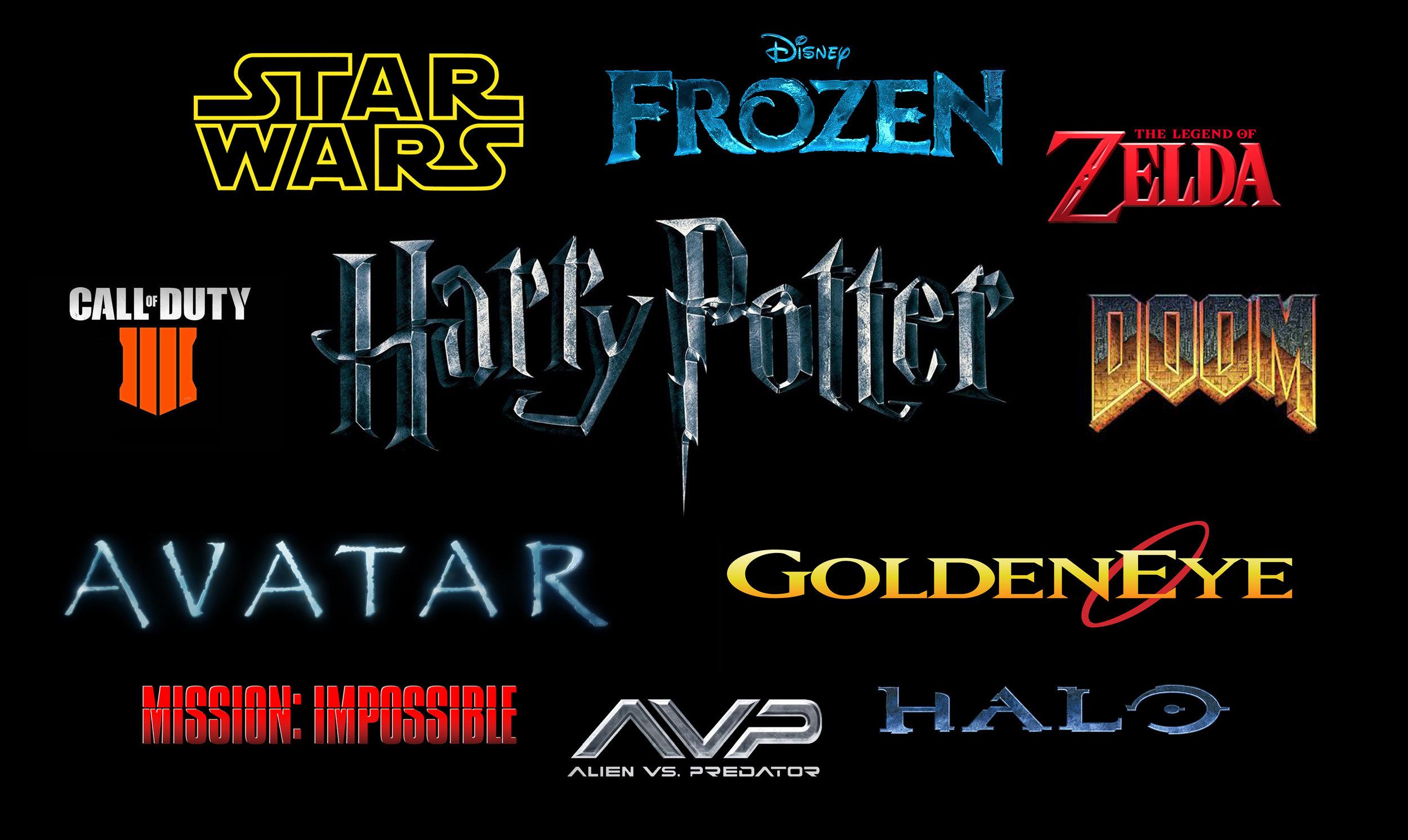 Game-theme-types