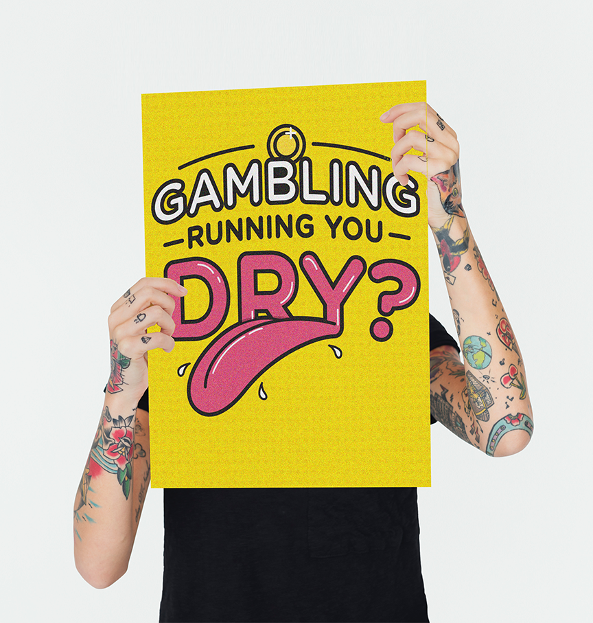 Wanna start a low-risk gambling campaign on your campus? - CLICK THE POSTER.