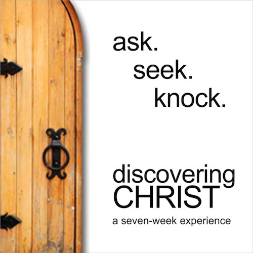 Discovering Christ - God gives us the responsibility to open doors and provide spaces of encounter with the personal love of our Lord Jesus for people who are searching for the meaning of life. Discovering Christ creates this open door for anyone who is searching for the meaning of their lives and provides an opportunity to share the Good News and the personal love of Jesus Christ.