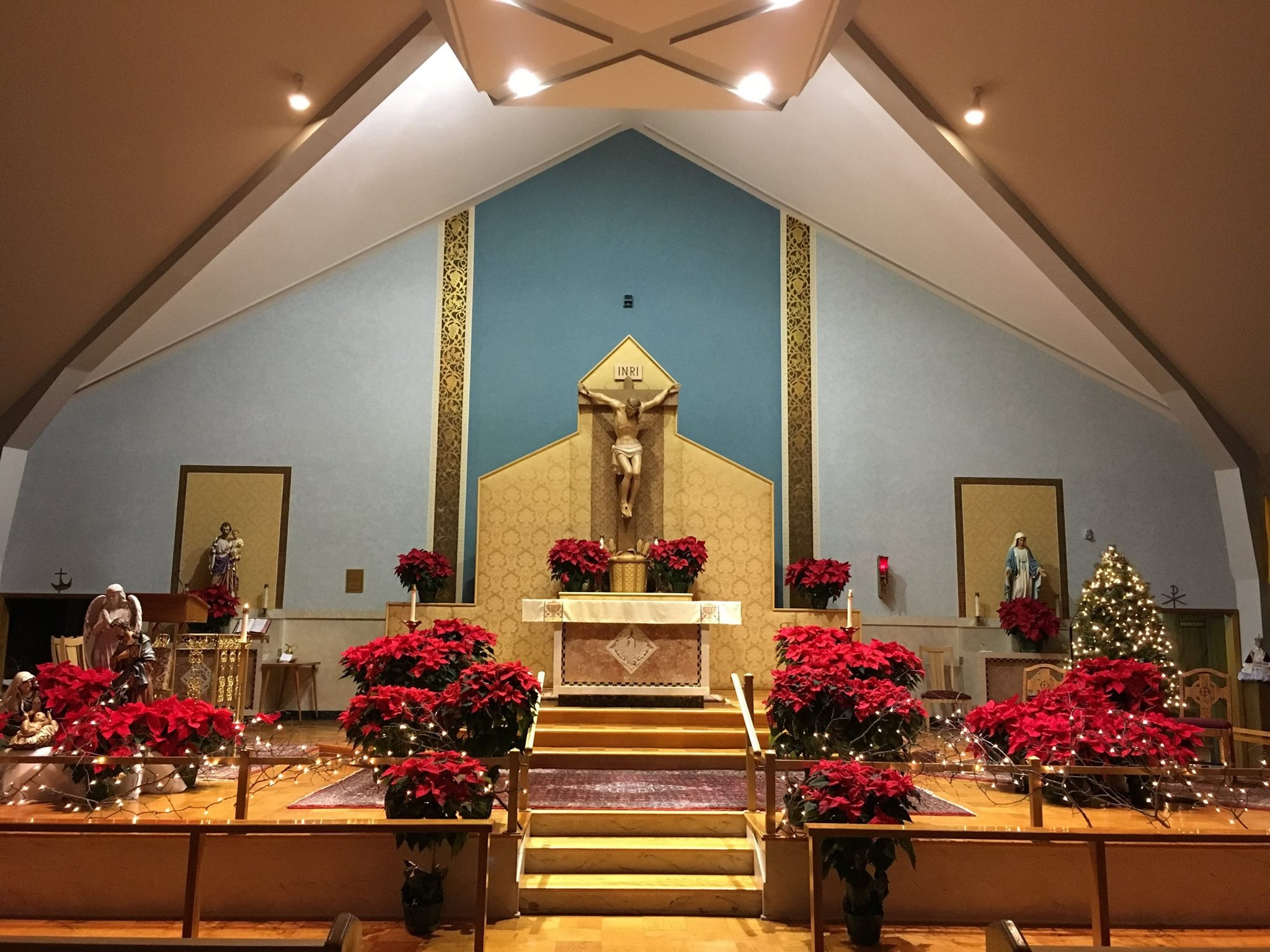 Welcome to   St. Marianne Cope Parish   The Catholic Community of Lakeland & Solvay   MASS TIMES