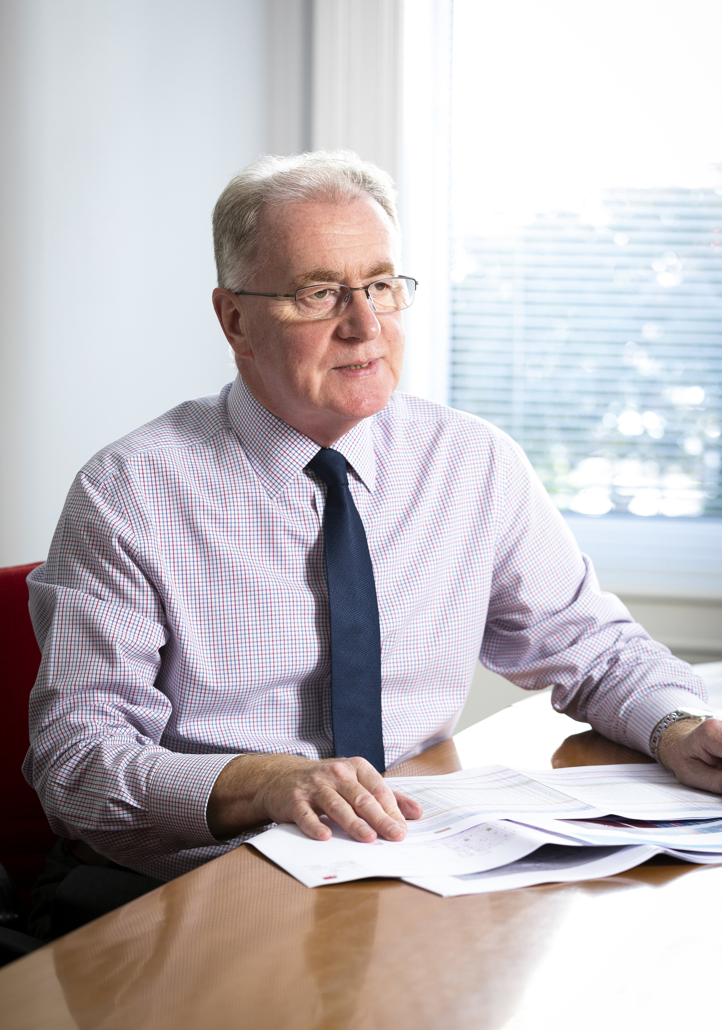 Gerry Hughes  Managing Director - Asset Management and Briefing Consultancy Director -  MRICS, MAPM   email; ghughes@hughesmcmichael.com