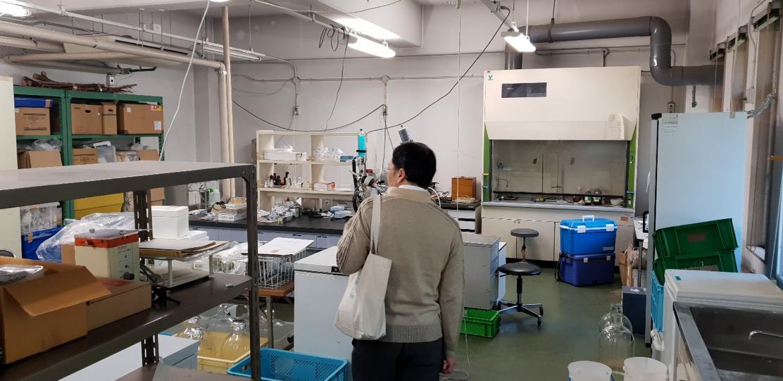 Some of Professor Hiroto Ogawa's laboratories, Hokkaido University