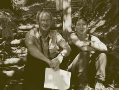 Peter Savill and Jo Clark