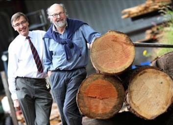 Guy Corbett-Marshall and Will Bullough, Whitney Sawmills