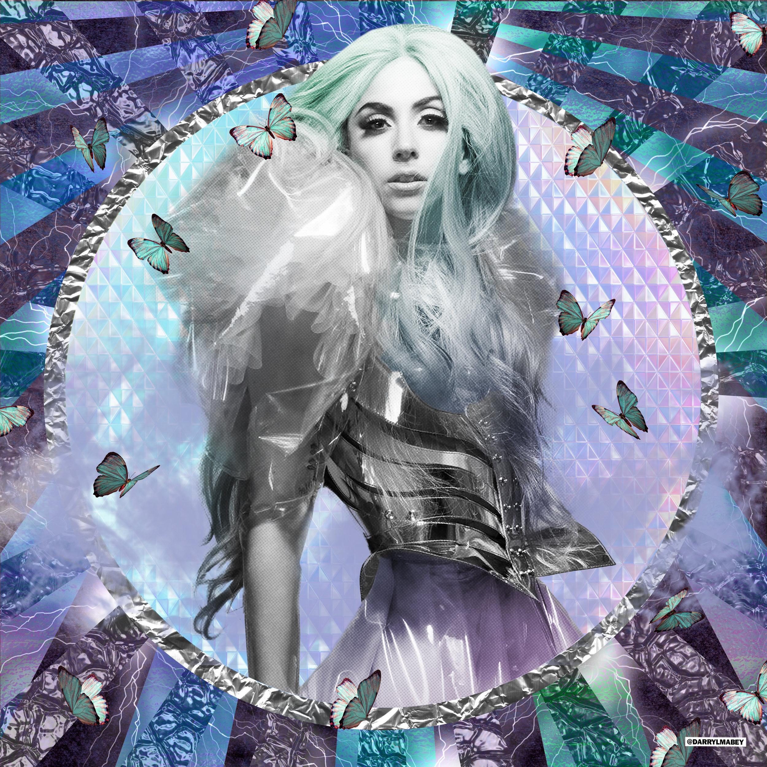 LADY GAGA - POP ART / DIGITAL COLLAGE