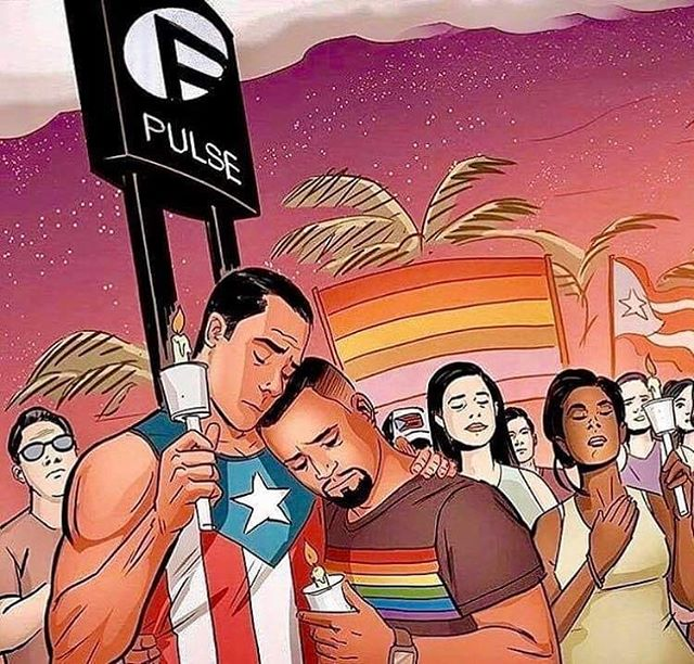3 years ago today.  It's so heartbreaking that shit like this still happens, and that people in their happiest place, by no fault of their own, end up in their last place. This world needs better.  #love #pride #pridemonth #pridemonth2019 #sad #guncontrol #guncontrolnow