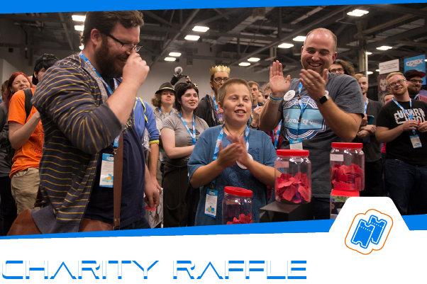 Saturday 10/12 & Sunday 10/13 | 10am - 6pm   Every year we get some of the coolest, one of a kind items from game companies across the world. Stop by and check out the awesomeness and put your name in the hat. You never know, you could be a winner!