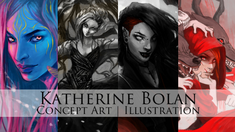 Katherine Bolan Concept Art and Illustration