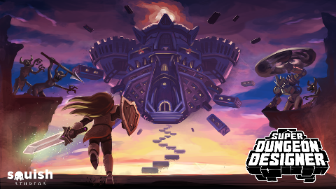 Squish Studios - Super Dungeon Designer, Dragon Drop, Memory Match and Catch!