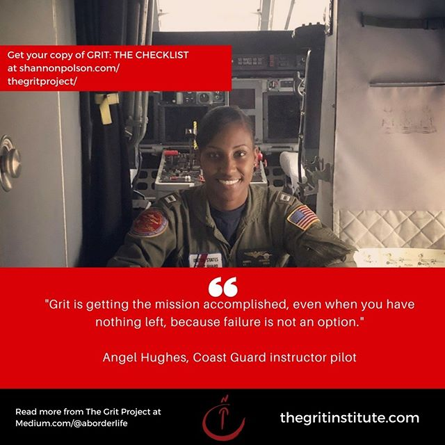 Angle Hughes was an angel indeed when she responded to the call of someone stranded off the Louisiana coast. Read her story and how she responded to challenge at the Grit Project at medium.com/@aborderlife. And be inspired by how she lives her mission in more ways than one, every single day. #aviation #aviator #aviatrix #flight #uscg #coastguard #pilot #women #womenintech #womeninstem #grit #resilience #woc #youvegotgrit #shesgotgrit #womenwhorick #killingit #ownyourgrit #ownit #military #mission #allaboutthemission #leadership #takingownership @womeninaviation @aviationdaily @united_states_coast_guard #rolemodel #settingthestandard #makingitcount