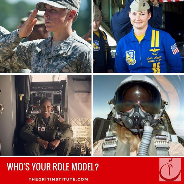 Role models tell us who we can be, tell us what is possible. Who are yours? Who will you show to@your daughters? #rolemodels #leadership #grit #military #women #militarywomen #kickingass #ownyourgrit #claimyourgrit #knowyourstory #narrative #knowyourworth #alwayslookup @makerswomen @huffpostwomen @womenatforbes @ellevate_ntwk @leaninorg @leaninseattle