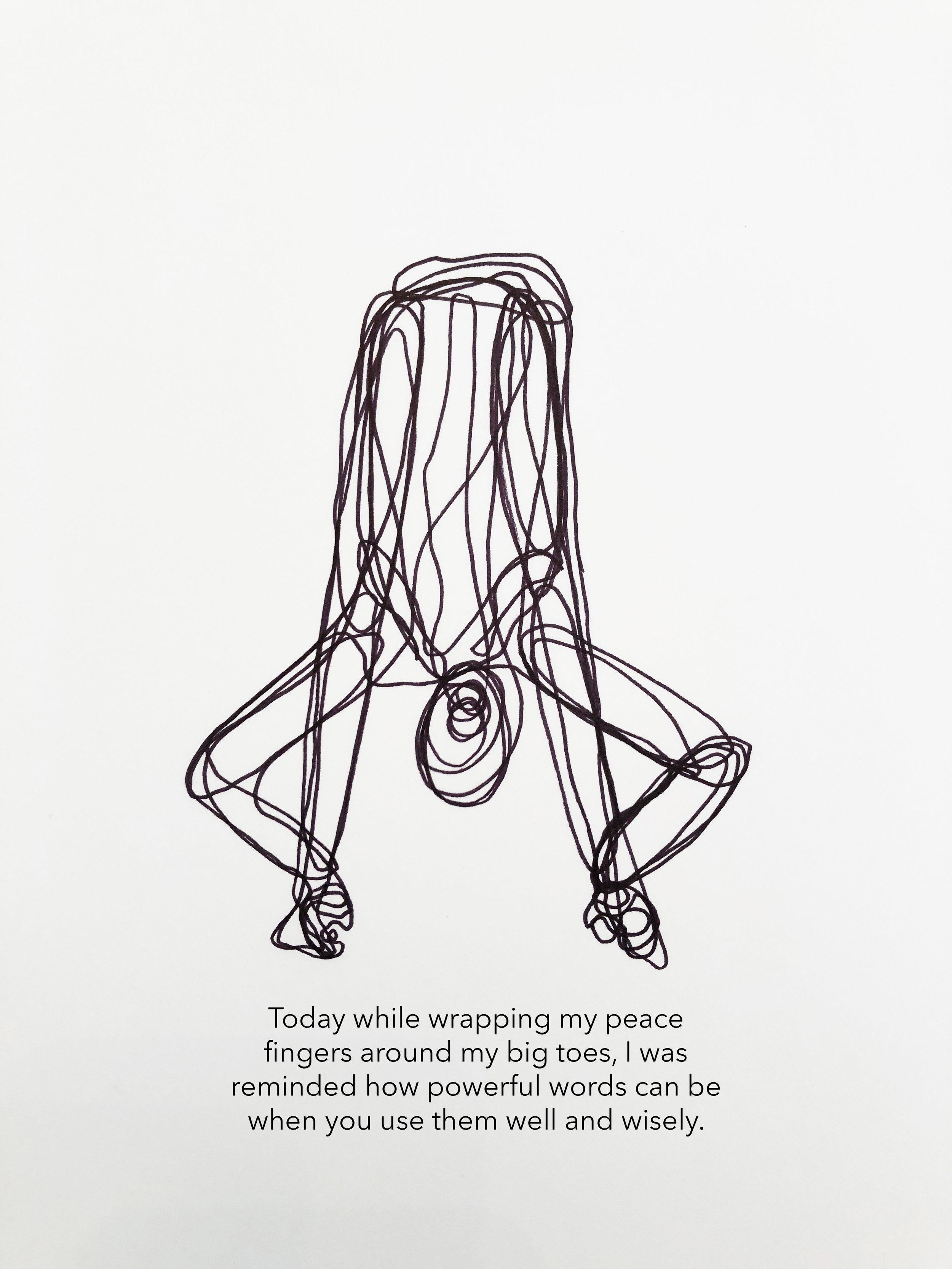 Alex Goldberg, Peace Fingers, 2018
