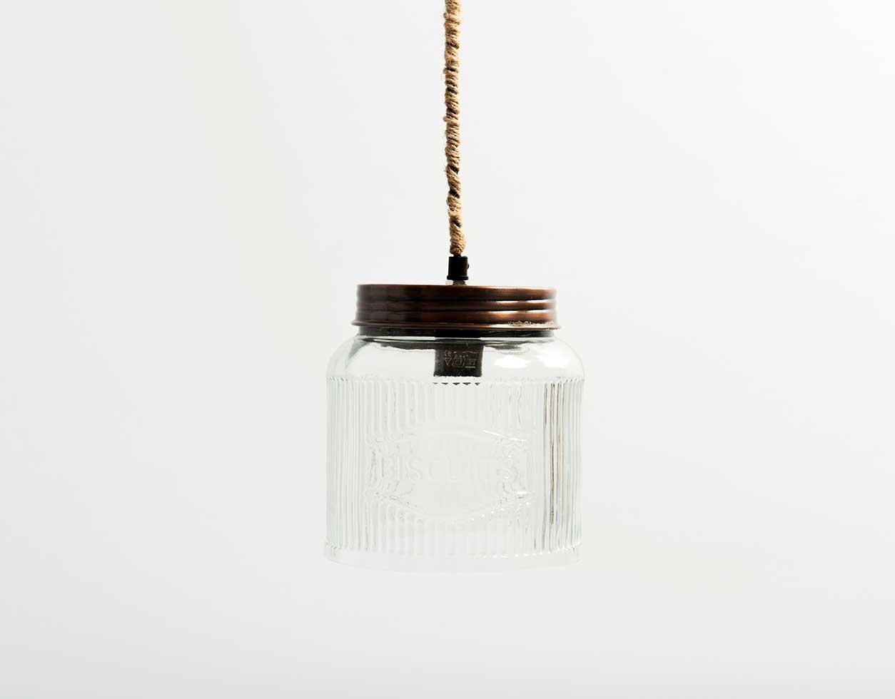 Biscuit Jar Light Pendant Lucky Fitsch
