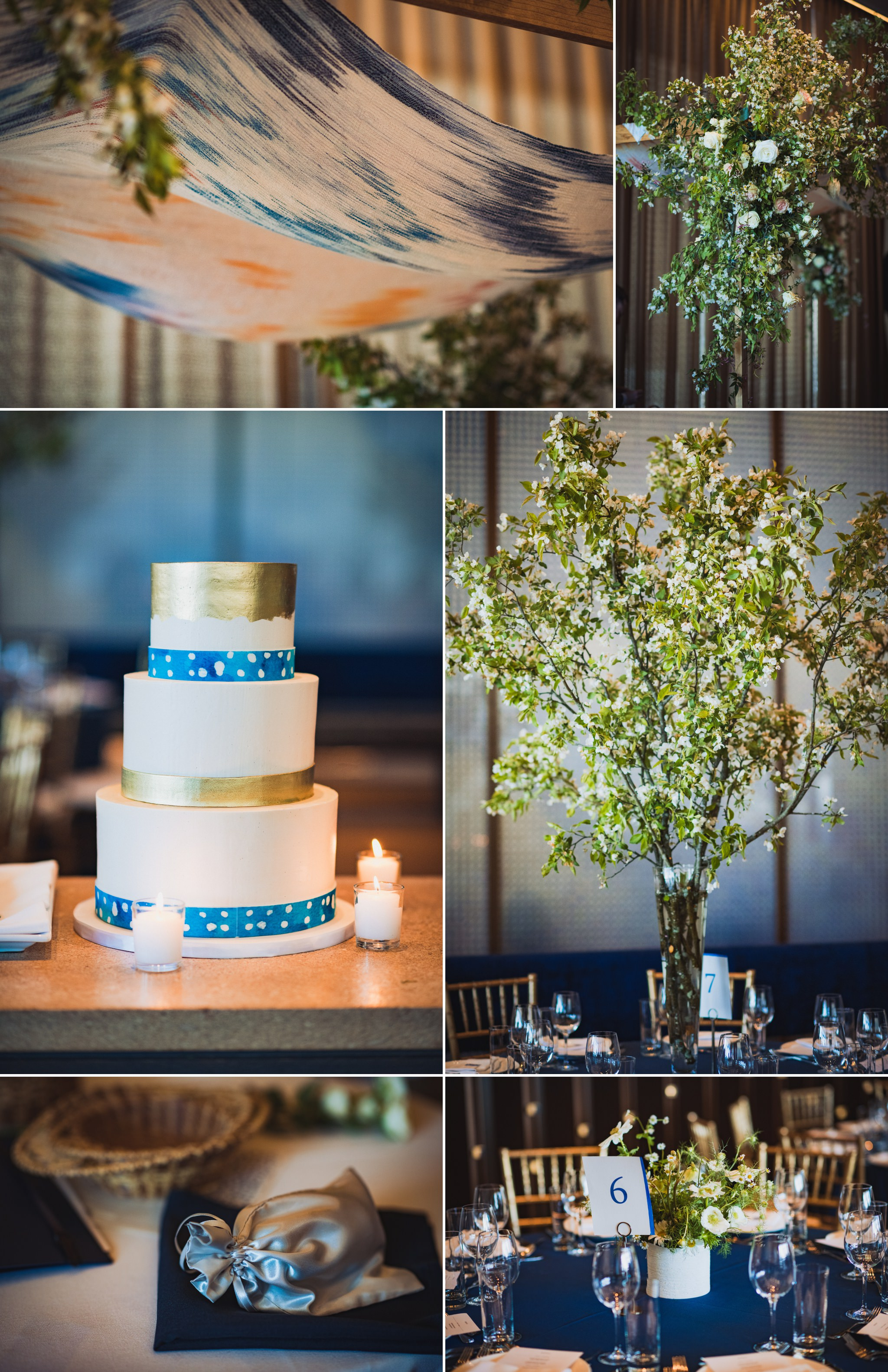 some of the details from Brian and Scott's wedding at Riverpark NYC. I love the cake from Empire Cakes, as well as the venue design. Details are important for embellishing additional color to the story of your day, helping to set the tone of sophistication for your wedding day.