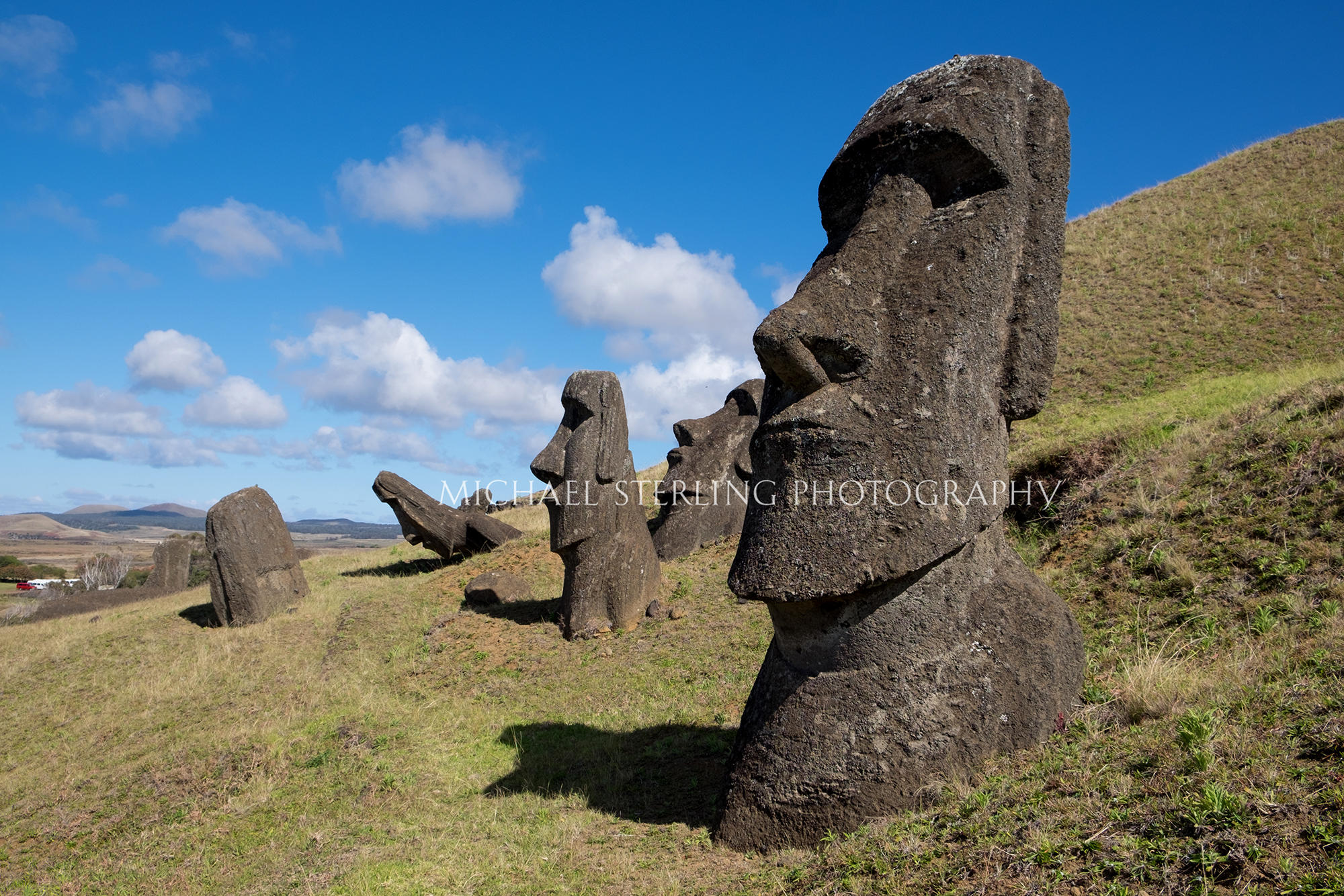 Easter Island Hillside