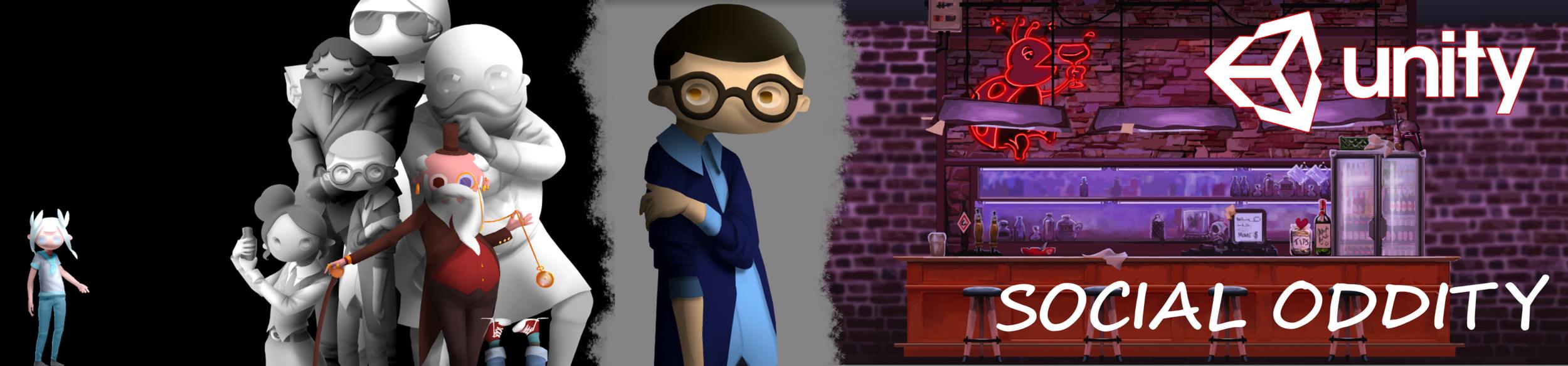 Social Oddity  - Game project @ FutureGames