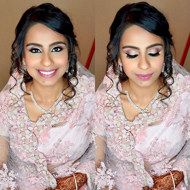 My Gorgeous Bride Shazia from this past weekend 💕 she requested a soft natural look for her Nikkah and that's exactly what we did for her 👰🏻 #brushonnbyalveena #brushonnbyalveenabrides #bride #bridalmakeup #dallas #dallaswedding #weddingmakeup #bridalmakeupartist #plano #planomakeupartist