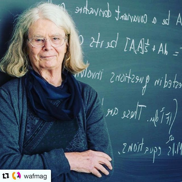 """Do you know about this amazing woman 45+: Karen Uhlenbeck, an American mathematician. She is a professor emeritus of mathematics at the University of Texas at Austin, where she held the Sid W. Richardson Foundation Regents Chair. She also co-founded the Women and Mathematics Program at the Institute for Advanced Study with the mission to recruit and retain more women in mathematics. """"On Tuesday, the Norwegian Academy of Science and Letters announced it has awarded this year's Abel Prize — an award modeled on the Nobel Prizes — to Karen Uhlenbeck, an emeritus professor at the University of Texas at Austin. The award cites """"the fundamental impact of her work on analysis, geometry and mathematical physics."""" One of Dr. Uhlenbeck's advances in essence described the complex shapes of soap films...in abstract, high-dimensional curved spaces. In later work, she helped put a rigorous mathematical underpinning to techniques widely used by physicists in quantum field theory to describe fundamental interactions between particles and forces.  In the process, she helped pioneer a field known as geometric analysis, and she developed techniques now commonly used by many mathematicians."""" ~ Kenneth Chang, New York Times  Here's to Karen showing us how to continue learning, advocating, educating and leading as we age!  #shero #agepositive #womenthriving #womeninspiringwomen #brandfitconsulting #womenshistorymonth #womenover45 #womenempowerment #valuewomen #womenshistorymonth2019 #karenuhlenbeck"""