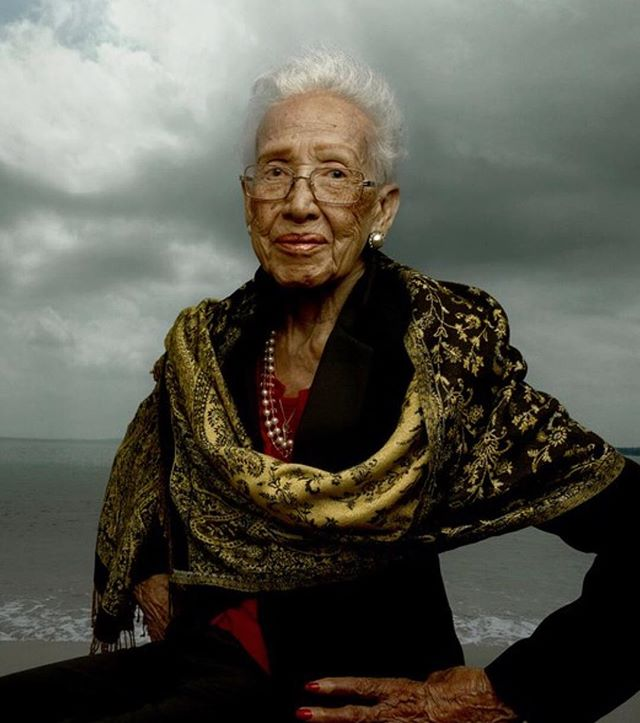 Do you know about this amazing woman 45+: Katherine Johnson, pioneer of American space exploration, physicist and mathematician whose calculations of orbital mechanics as a NASA employee were critical to the success of U.S. manned spaceflights.  During her 35-year career at NASA (ages 40- almost 70), Katherine Johnson pioneered the use of computers to perform tasks such as calculating trajectories, launch windows and emergency return paths for Project Mercury spaceflights and command modules on flights to the Moon.  Her calculations were also essential to the beginning of the Space Shuttle program, and she worked on plans for a mission to Mars.  Katherine continues to be a role model for women and people of color in science, and in 2015 at the age of 97, she was awarded the Presidential Medal of Freedom by President Obama.  Here's to Katherine (turning 100 this year!) showing us how to continue learning, advocating, educating and leading as we age!  #shero #agepositive #womenthriving #womeninspiringwomen #brandfitconsulting #womenshistorymonth #womenover45 #womenempowerment #valuewomen #womenshistorymonth2019 #katherinejohnson #hiddenfigures