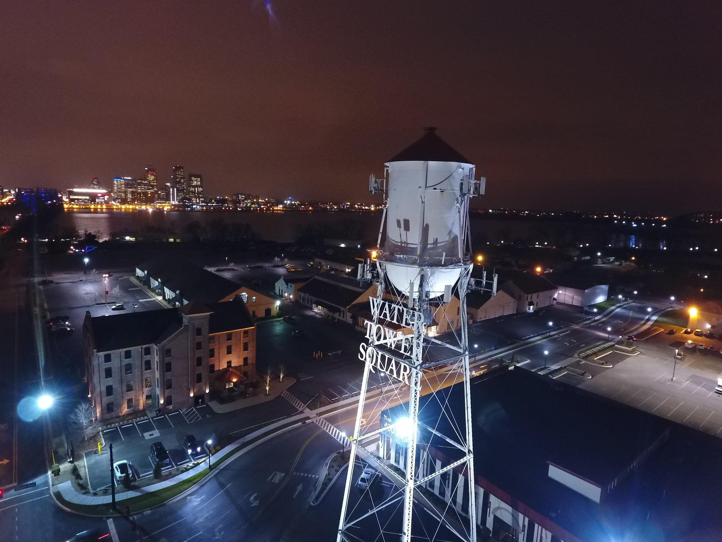 water tower night skyline.JPG