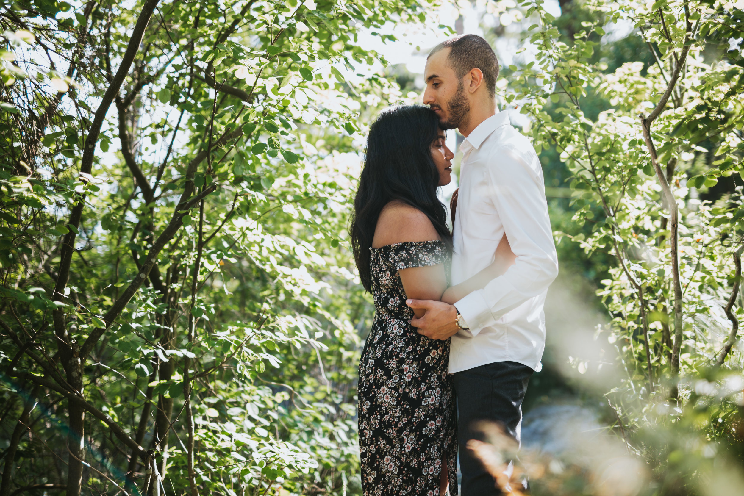 Boyfriend proposes to girlfriend at Whytecliff Park in West Vancouver