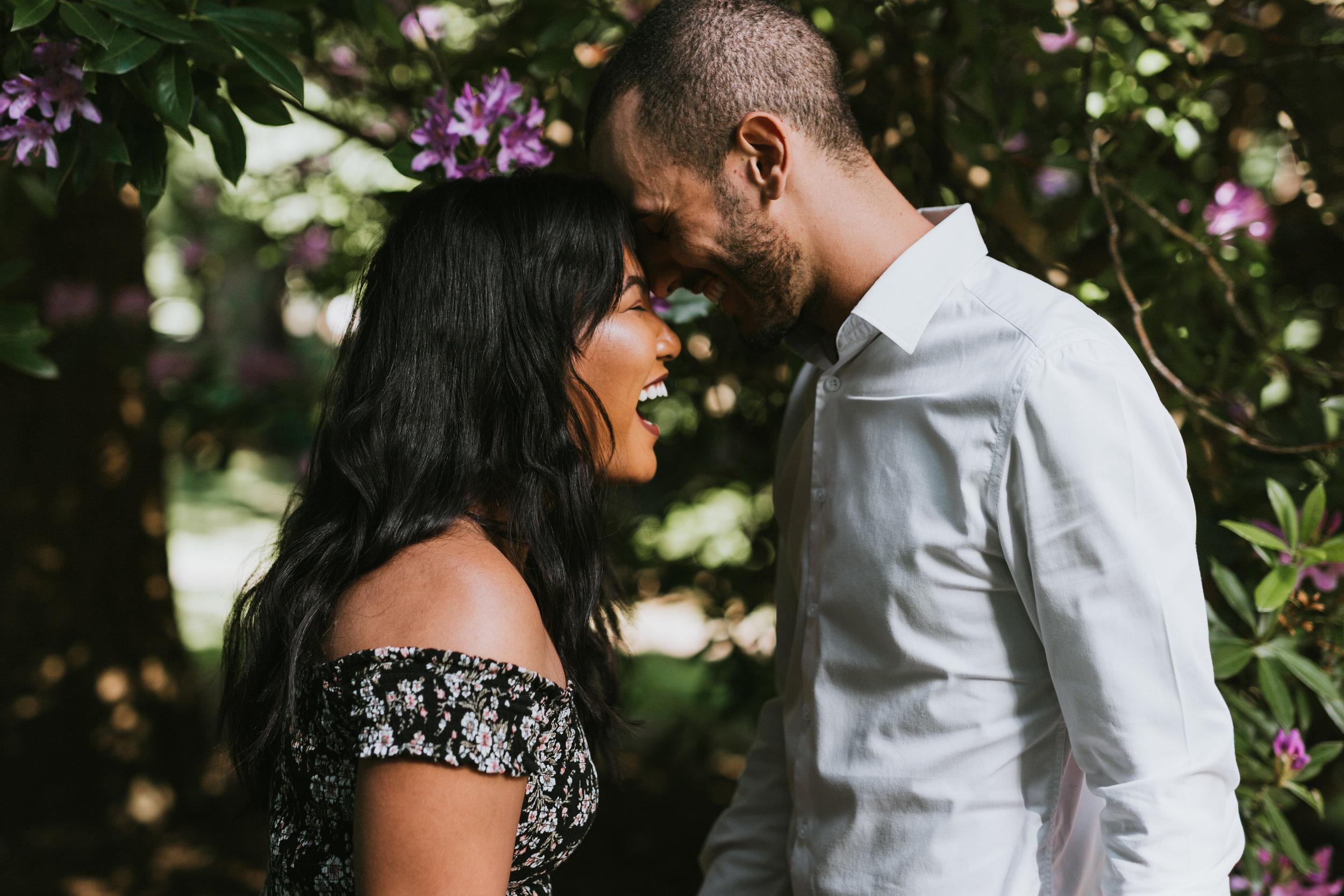 Emotional Whytecliff Park Proposal, Vancouver BC - Czarina & Renan -