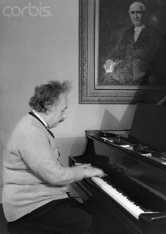 Einstein loved the piano....just imagine if it had been his passion what music he would have created.