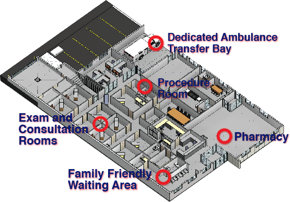 Delburne Medical Centre Floorplan