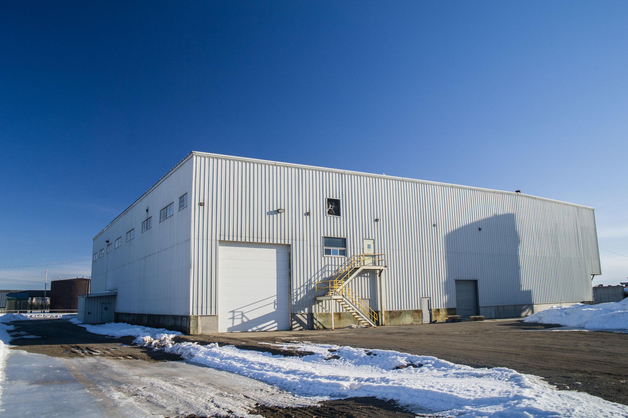 Heated warehousing