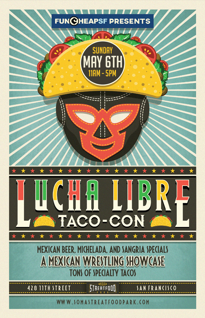 NEW Lucha Libre Taco Con 2018 (Poster).png