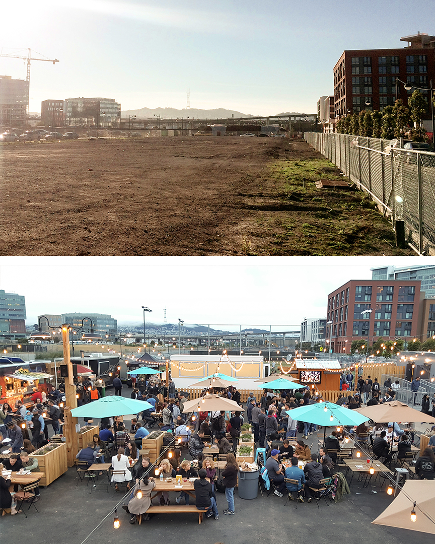 Mission Bay's Parklab before & after activation