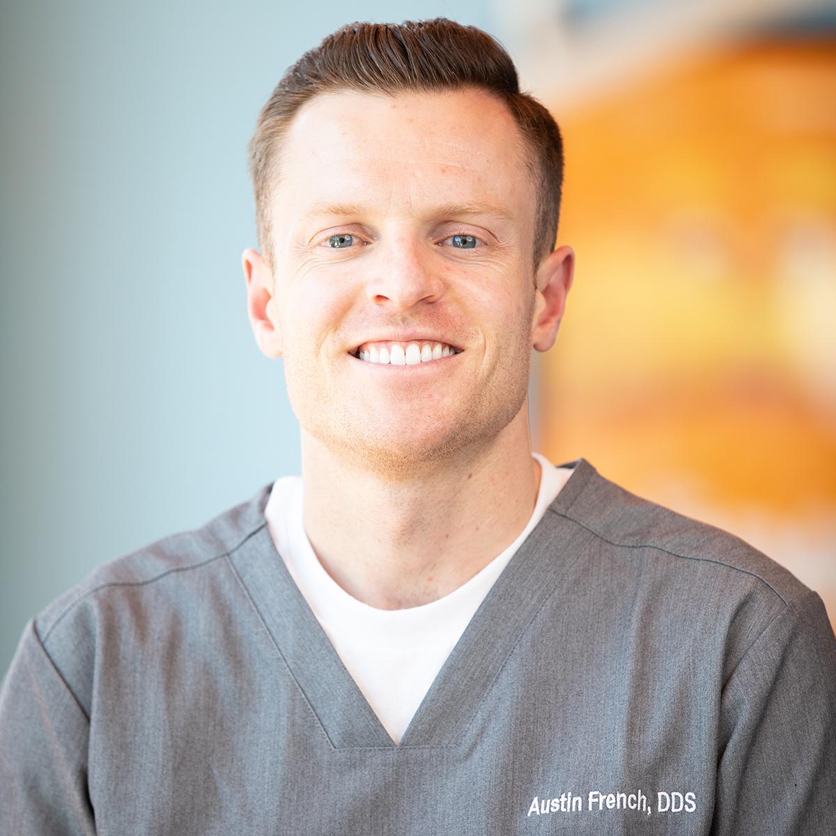 Dr. Austin French - Pocatello Pediatric Dentist