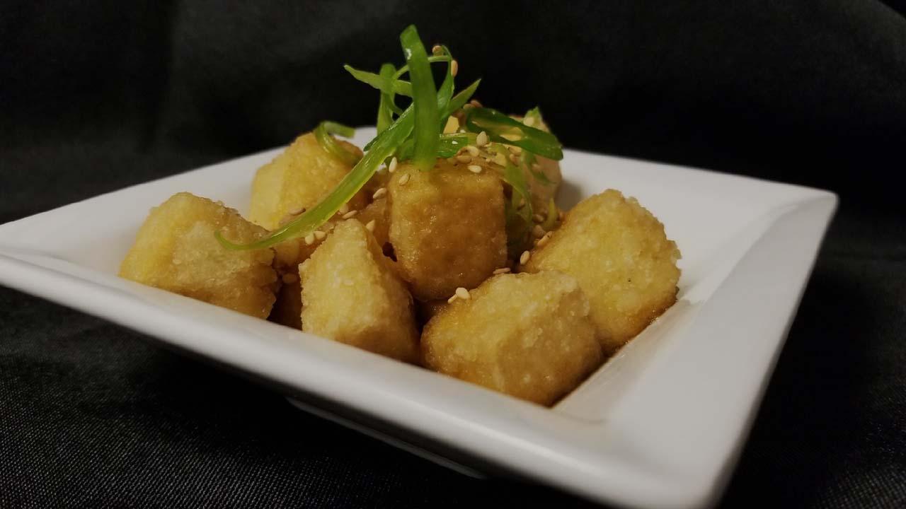 2nd Course: Age Dashi Tofu
