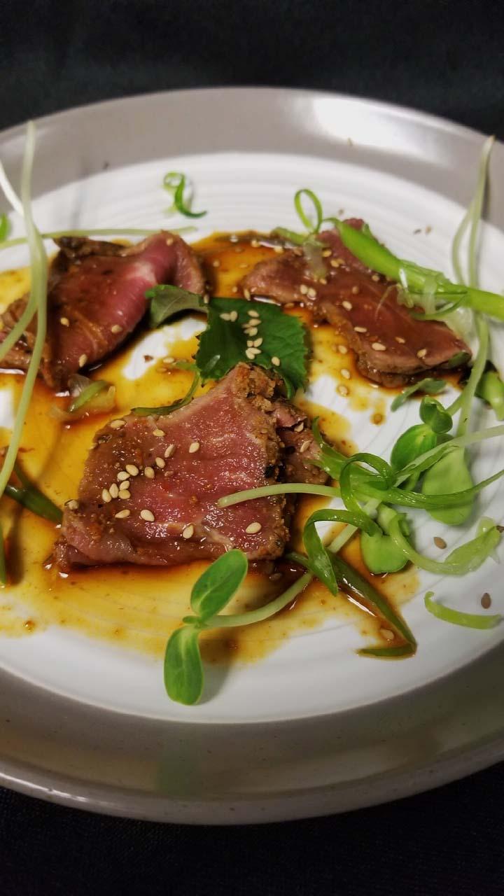 6th Course: Beef Tataki