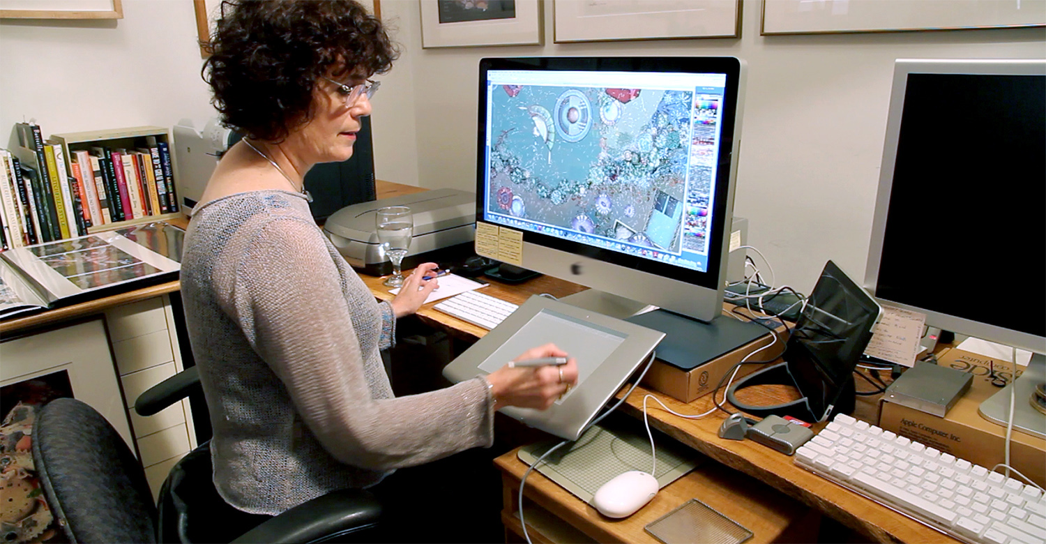 """As a digital artist Karen LaFleur combines the excellence of fine art with the computer's boundless possibility. Her narrative art draws the viewer into a wonderful world of imagination and reveals the inside story seldom told.""   Elizabeth Ives Hunter, Executive Director, Cape Cod Museum of Art"