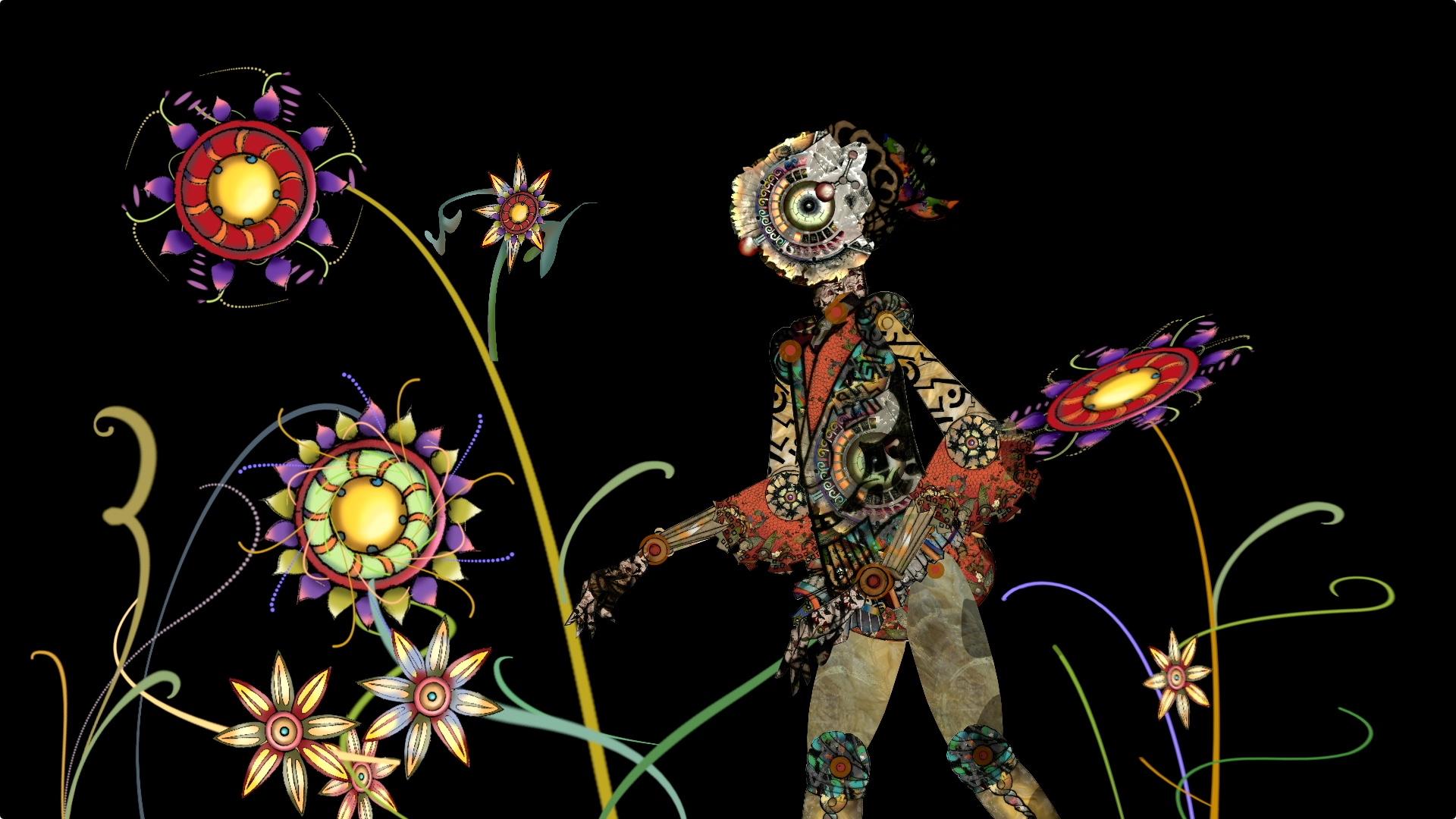 SEED : Artwork & Animation by Karen LaFleur & Music by Nancy Tucker