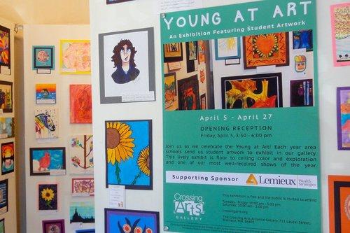 YOUNG AT ART