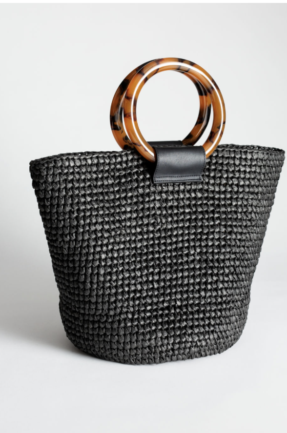 And Other Stories Straw Bag -